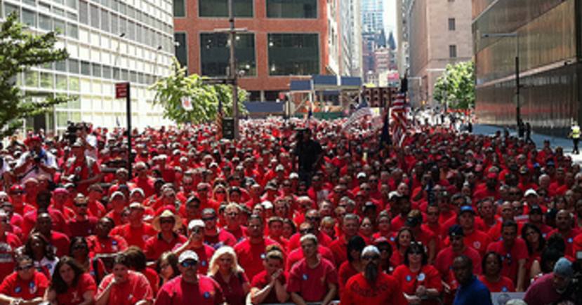 CWA Worker Action in New York